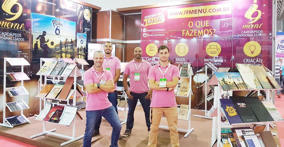 Super Rio Expofood 2018 - i9Menu celebra mais 1 ano de participação